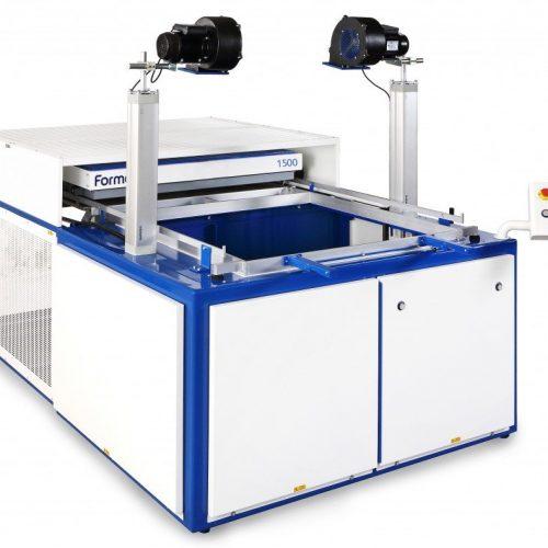 Formech vacuum vorming system